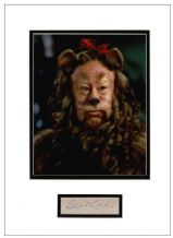 Bert Lahr Autograph Signed Display - Wizard of Oz